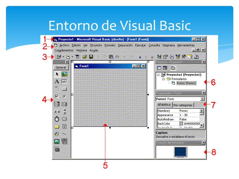 Entorno de Visual Basic