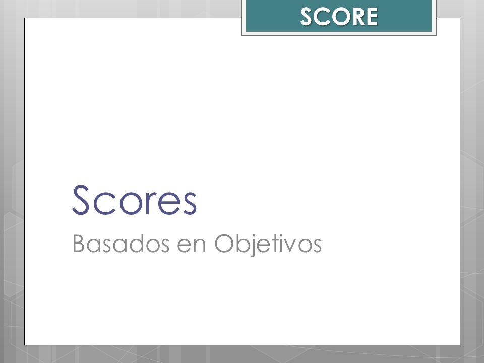 Scores Basados en Objetivos SCORE