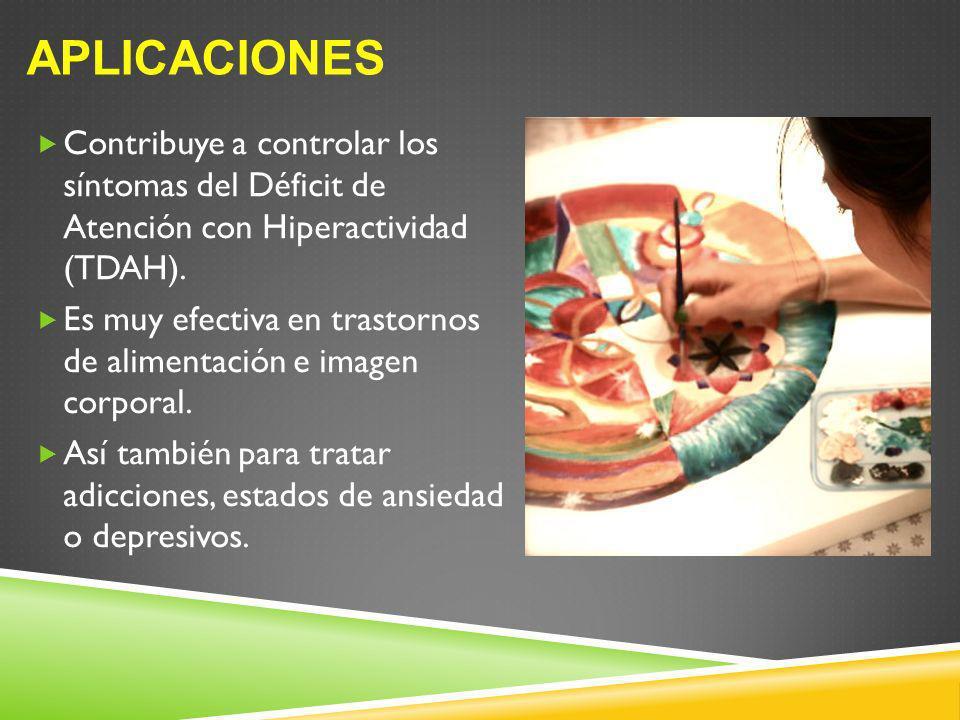 Contribuye a controlar los síntomas del Déficit de Atención con Hiperactividad (TDAH). Es muy efectiva en trastornos de alimentación e imagen corporal