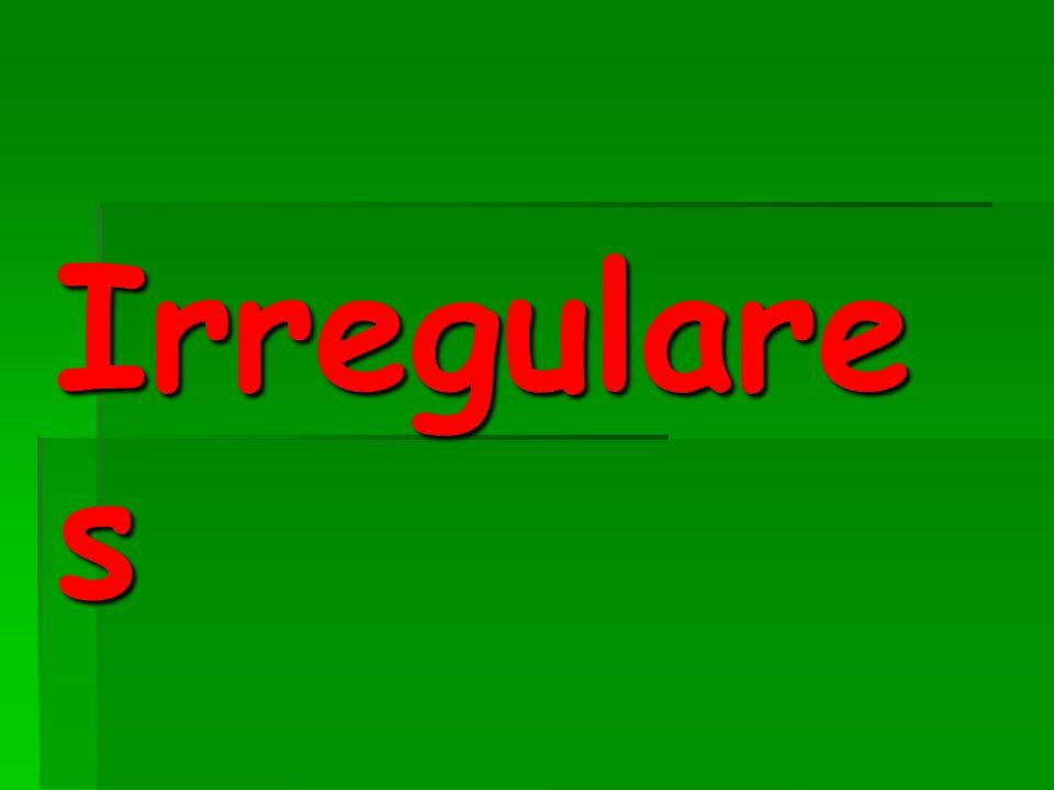 Irregulare s