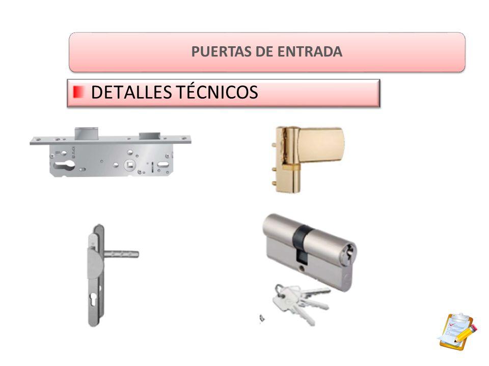 PUERTAS DE ENTRADA DETALLES TÉCNICOS