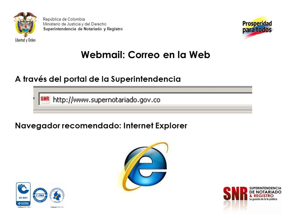 Click en calendario República de Colombia Ministerio de Justicia y del Derecho Superintendencia de Notariado y Registro