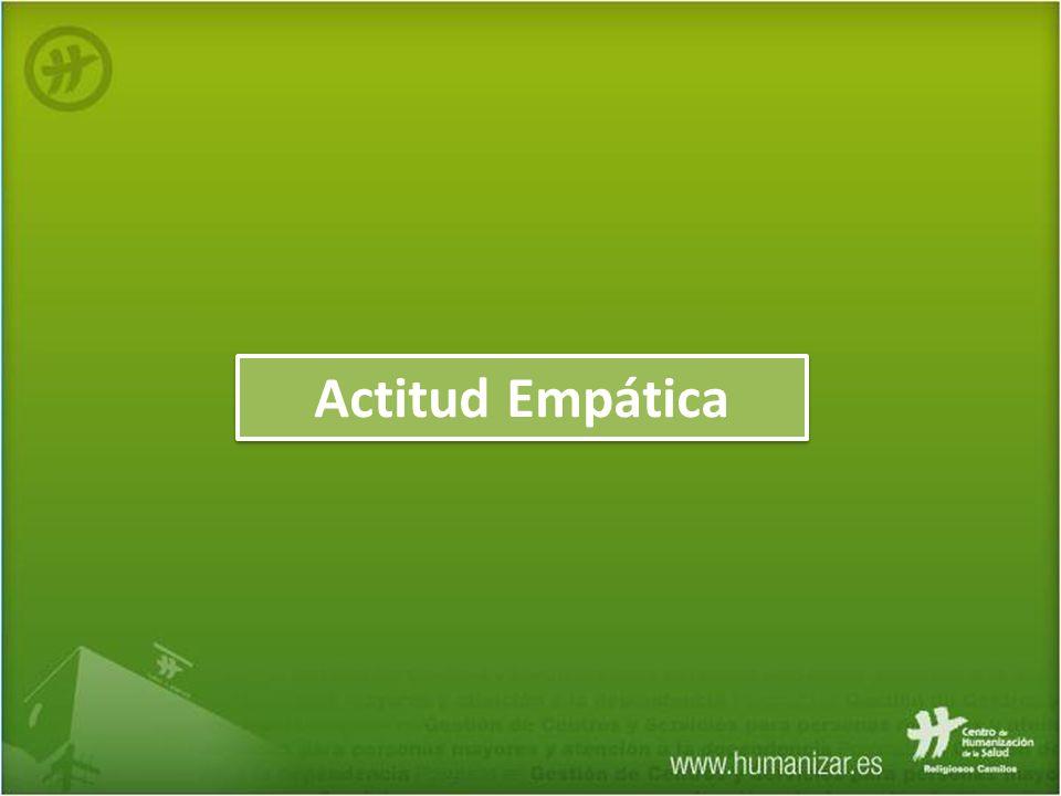 Actitud Empática