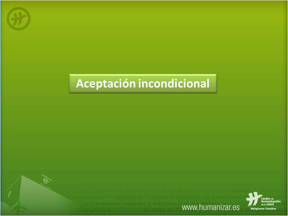 Aceptación incondicional
