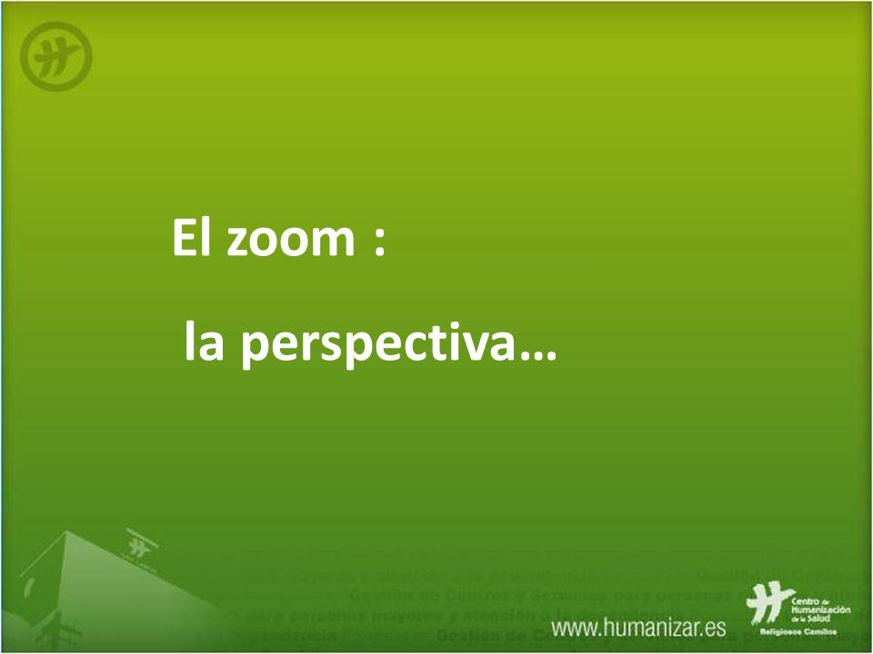 El zoom : la perspectiva…