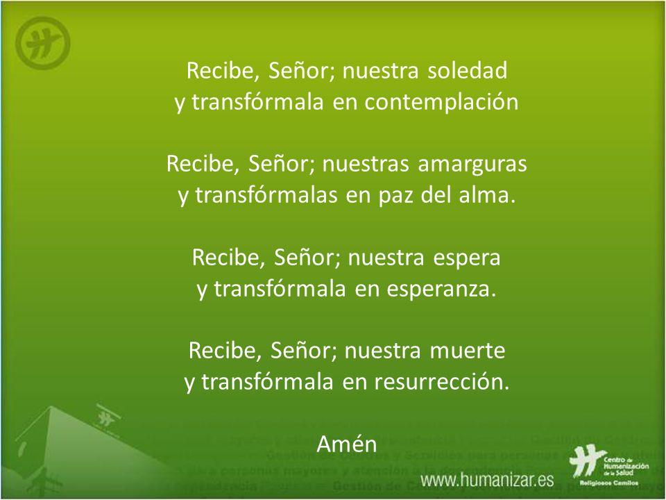 Objetivos - Aportar una visión optimista y saludable de la madurez y el envejecimiento en la vida religiosa.