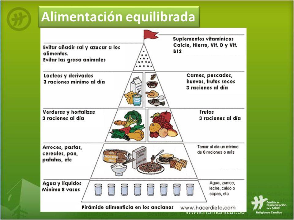 Alimentación equilibrada