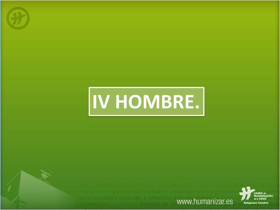 IV HOMBRE.
