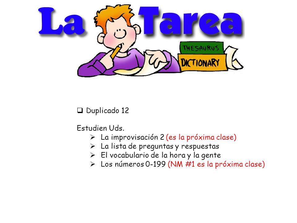 LaLa Duplicado 12 Estudien Uds.