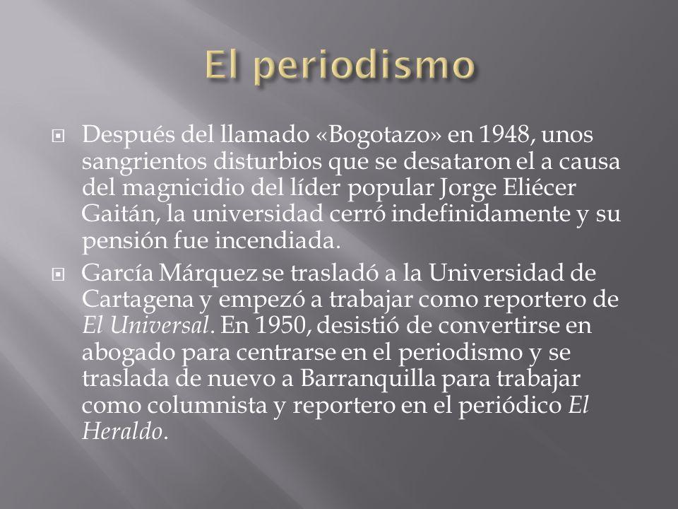 Después del llamado «Bogotazo» en 1948, unos sangrientos disturbios que se desataron el a causa del magnicidio del líder popular Jorge Eliécer Gaitán,