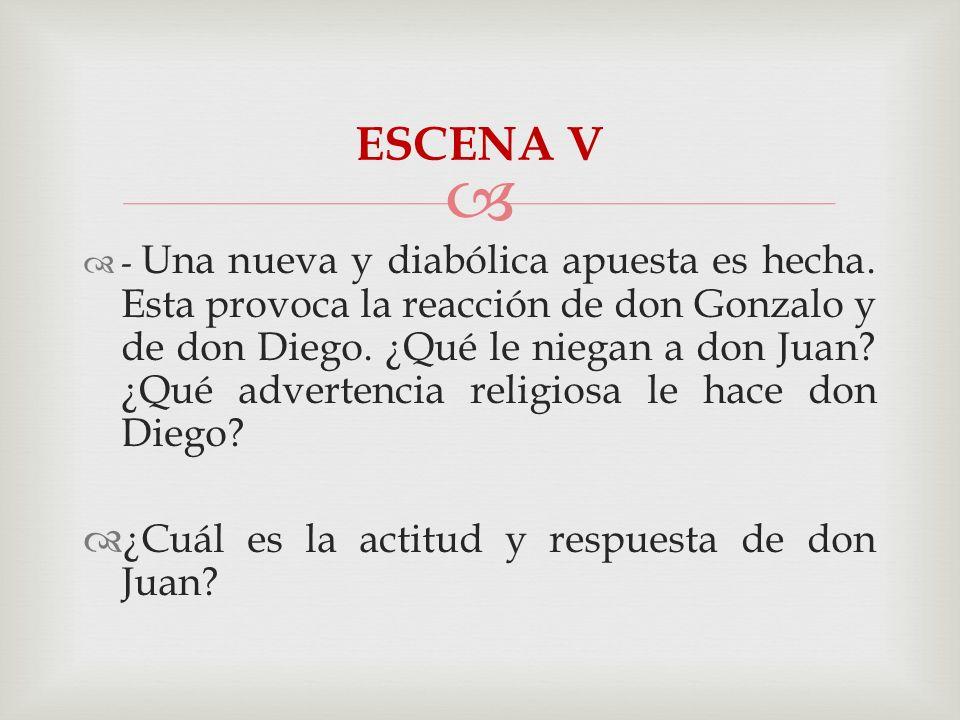 Don Gonzalo le niega su consentimiento para casarse con doña Inés.