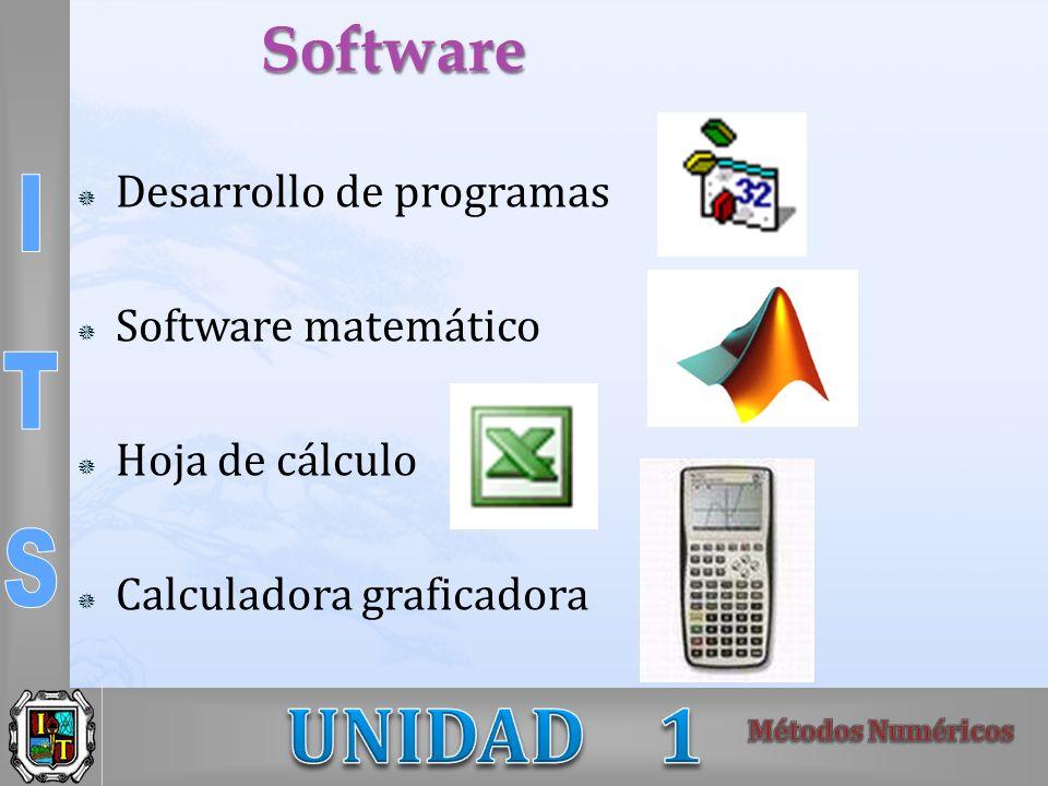 Software Desarrollo de programas Software matemático Hoja de cálculo Calculadora graficadora