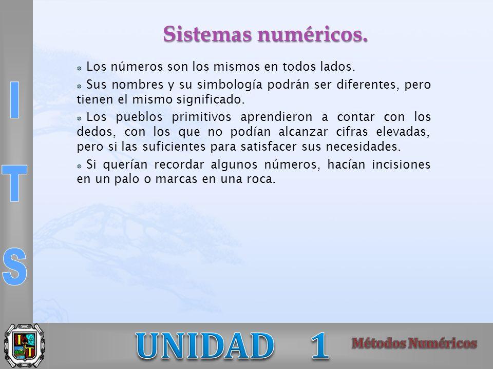 Se entiende por aproximación numérica X* una cifra que representa a un número cuyo valor exacto es X.