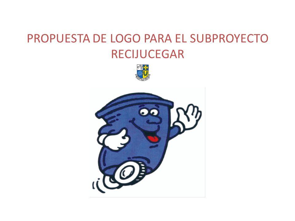 PROPUESTA DE LOGO PARA EL SUBPROYECTO RECIJUCEGAR