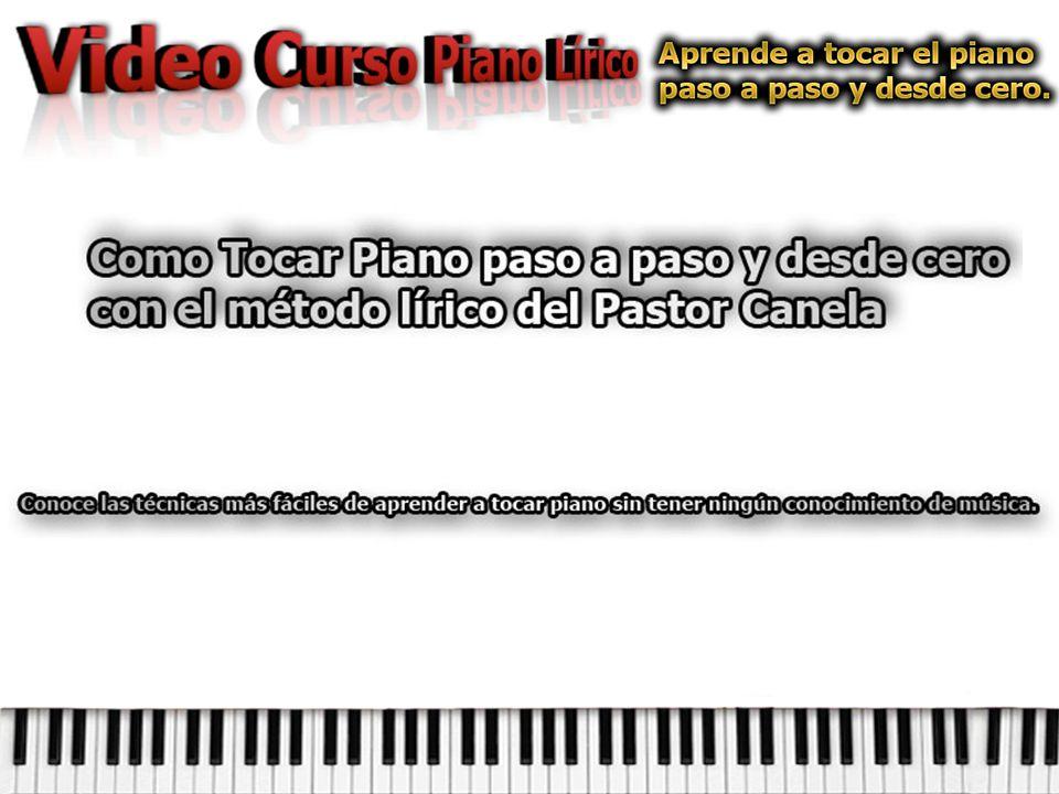 ¿Te gustaría aprender a tocar el piano con un método sencillo y aun sin tener conocimiento de notas musicales.