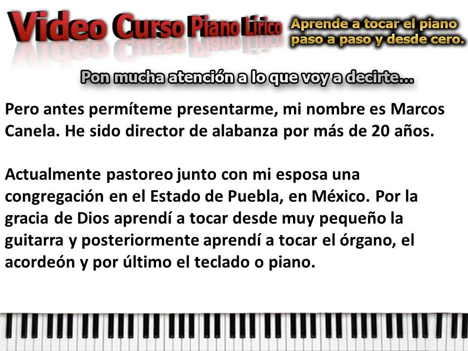 Así que aparte de el curso de piano y el seminario quiero darte 3 Cds de música cristiana… Créeme cuando te digo que estamos echando la casa por la ventana…