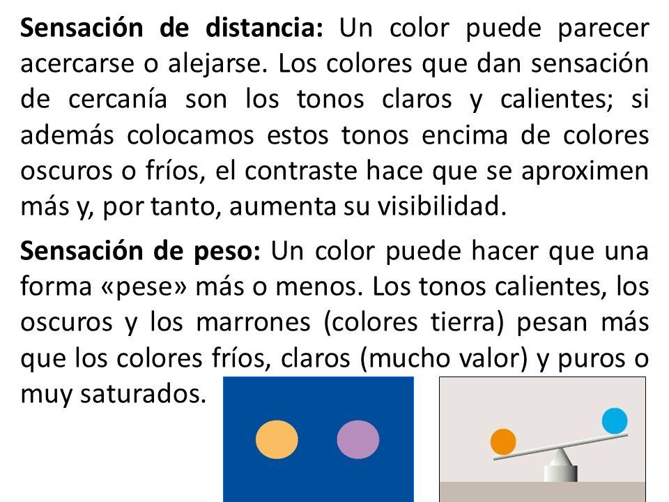 PERCEPCIÓN VISUAL DEL COLOR: DINÁMICA Y VISIBILIDAD DE LOS COLORES Los artistas utilizan el color para representar formas y componer imágenes. Según s