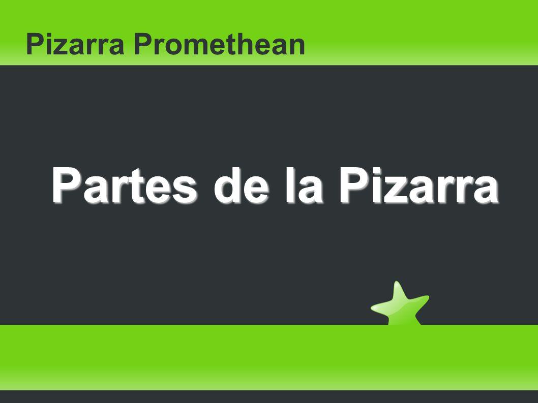 Pizarra Promethean Partes de la Pizarra