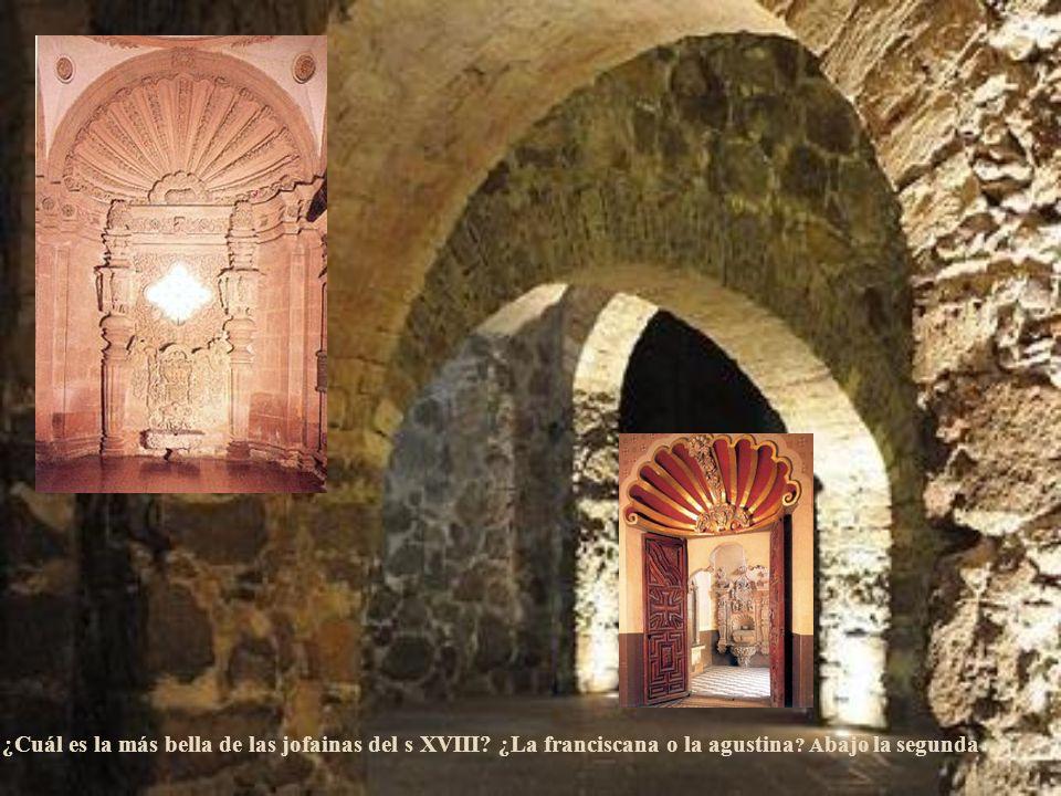 LLegaron los agustinos y pese al desasosiego franciscano se quedaron y construyeron la torre más fastuosa del XVIII
