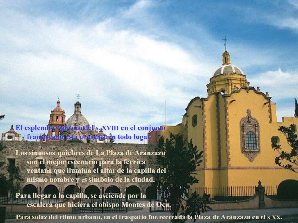 No encontraron mejor nido las aladas cúpulas y torres en San Luis Potosí. Aquende, las cúpulas de la sacristía y las torres del templo de San Francisc