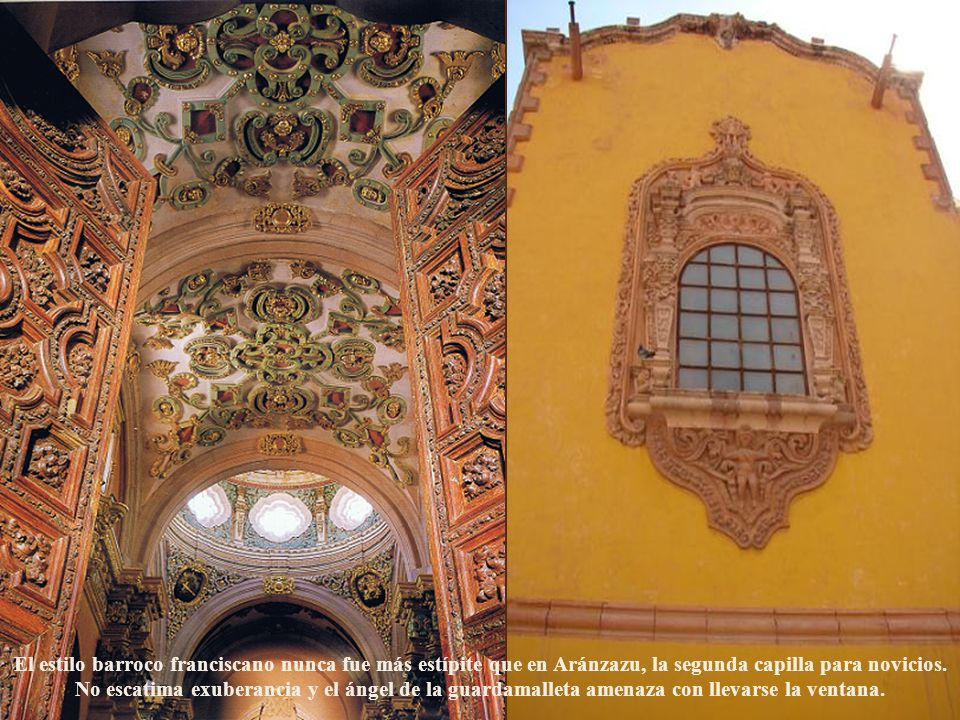 La estridencia óptica del barroco exuberante ha cimbrado El Carmen de San Luis Potosí desde 1767.