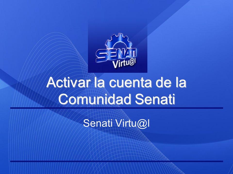 Muchas gracias. SENATI VIRTU@L Capacitación sin distancias