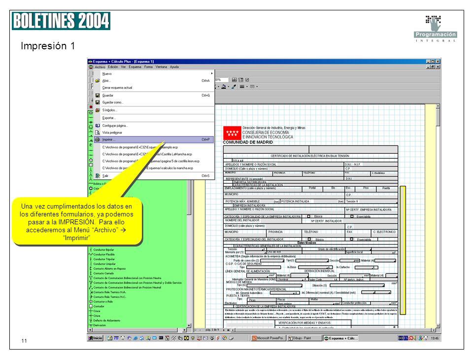 10 Paso 5c Datos rellenados Si se desea modificar o añadir algún dato no tenemos mas que escribir directamente en el campo correspondiente.