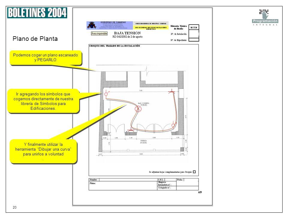 19 Plano de situación Podemos pegar una imagen capturada desde cualquier programa o acceder Internet, y de uno de los múltiples callejeros disponibles
