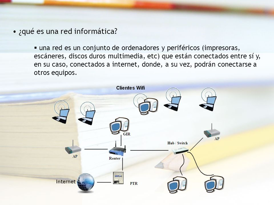 Clases de redes informáticas: Atendiendo a la forma de conectar lo equipos físicas (cableadas): mediante cable también llamadas de latiguillo.