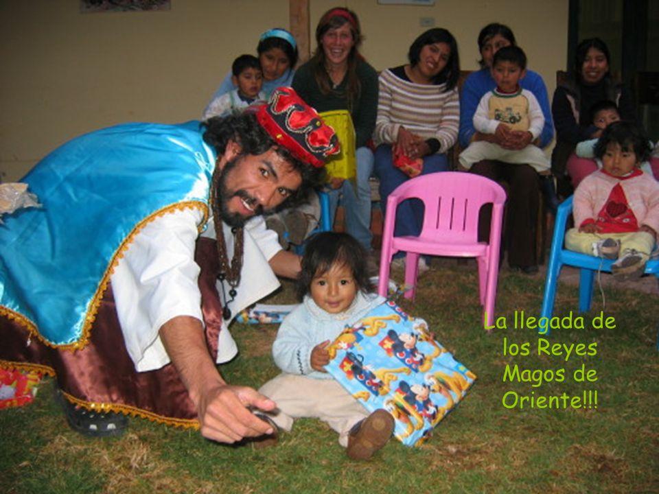 La llegada de los Reyes Magos de Oriente!!!
