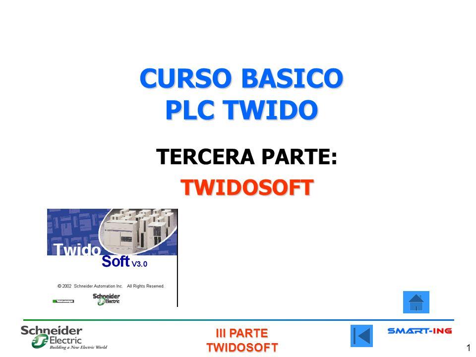III PARTE TWIDOSOFT 1 CURSO BASICO PLC TWIDO TERCERA PARTE:TWIDOSOFT