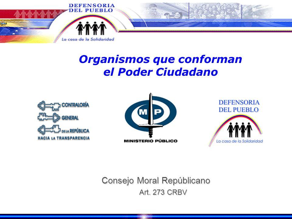 Poder Ciudadano Art. 273 al 279 CRBV