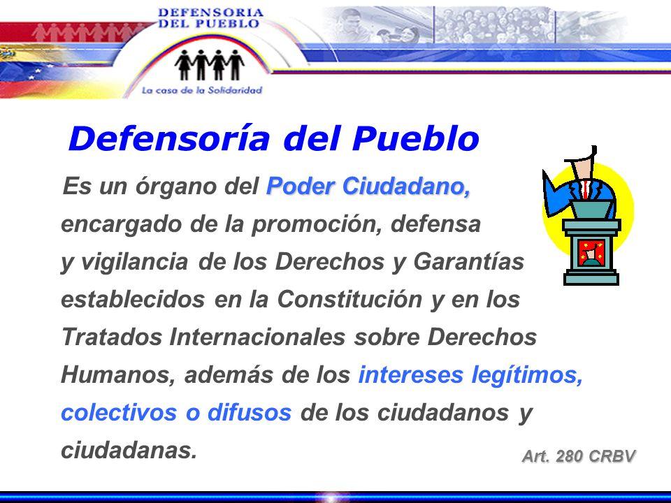 Organismos que conforman el Poder Ciudadano Consejo Moral Repúblicano Art. 273 CRBV Art. 273 CRBV