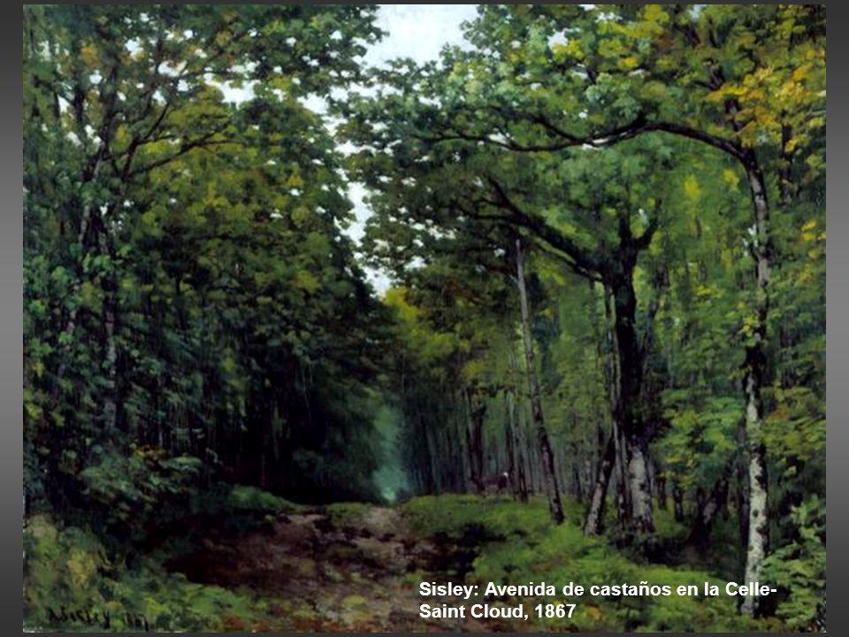 Daubigny: el viñedo, 1860-63 Sorolla: estudio de viñas, Jerez, 1914