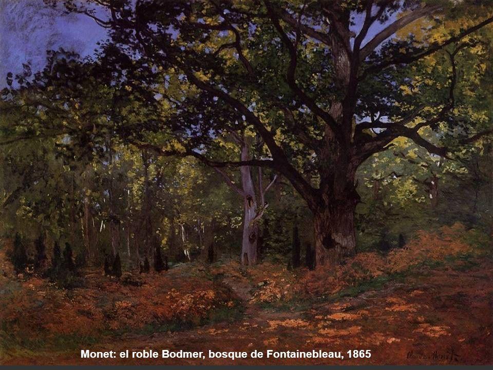 Sisley: Avenida de castaños en la Celle- Saint Cloud, 1867