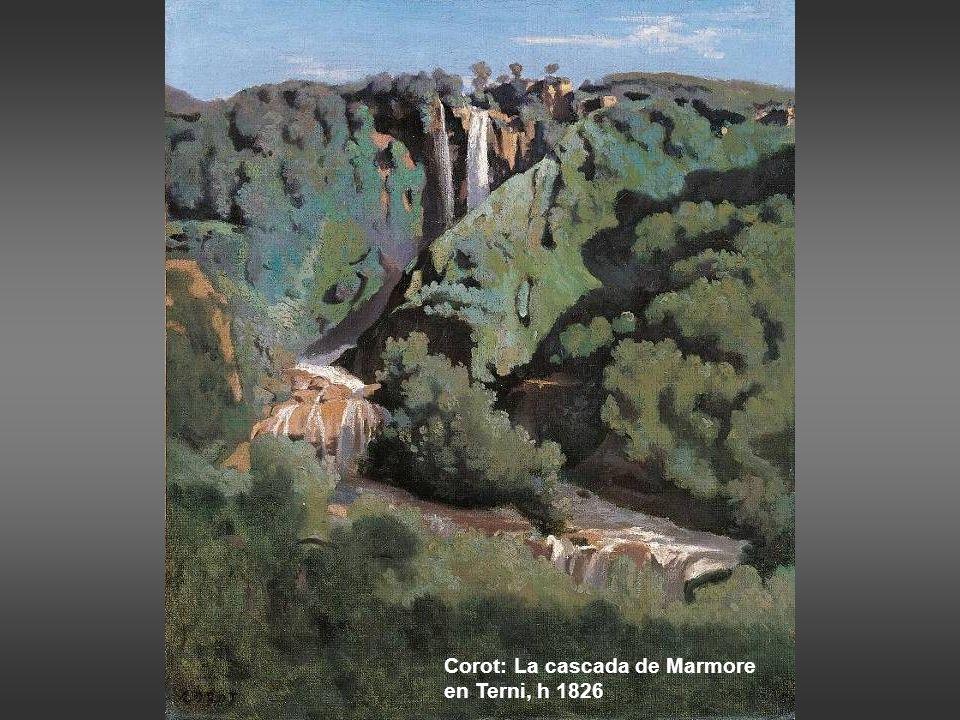 Johann Martin von Rohden: las cascadas de Tívoli, 1808-15