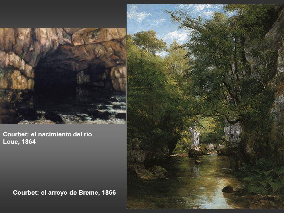 Constable: la esclusa de Flatford, sendero junto al río, h 1810-12 El sonido del agua escapando de las presas del molino, los sauces, las viejas orill