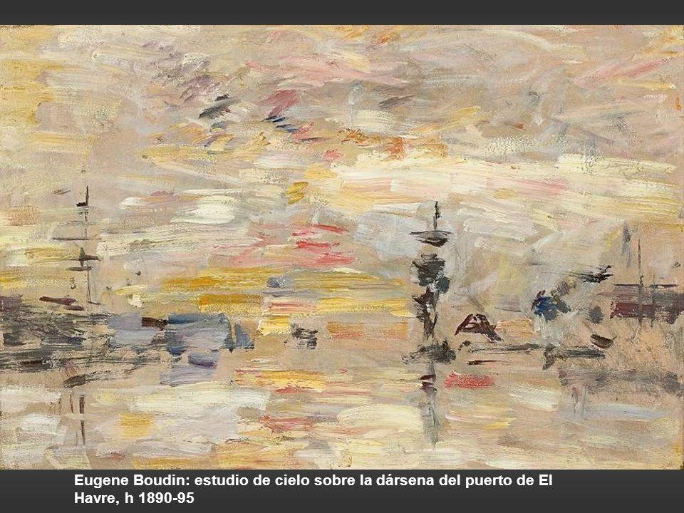 Van Gogh: Molino de agua en Gennep, 1884