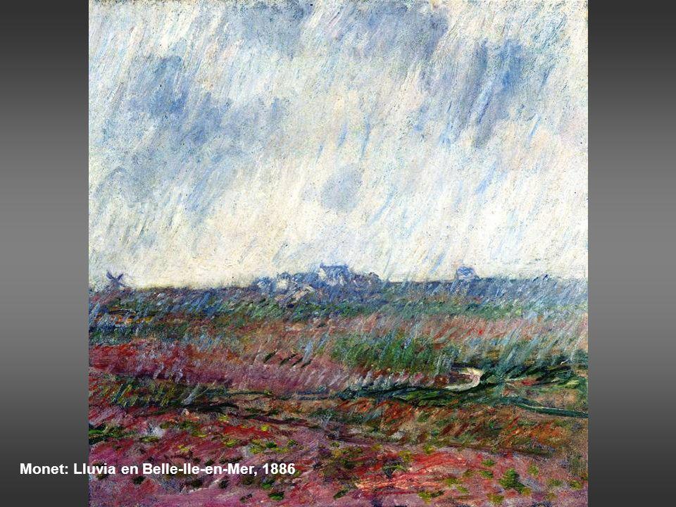 Van Gogh: paisaje al atardecer, 1885 Van Gogh: Los descargadores de Arlés, 1888
