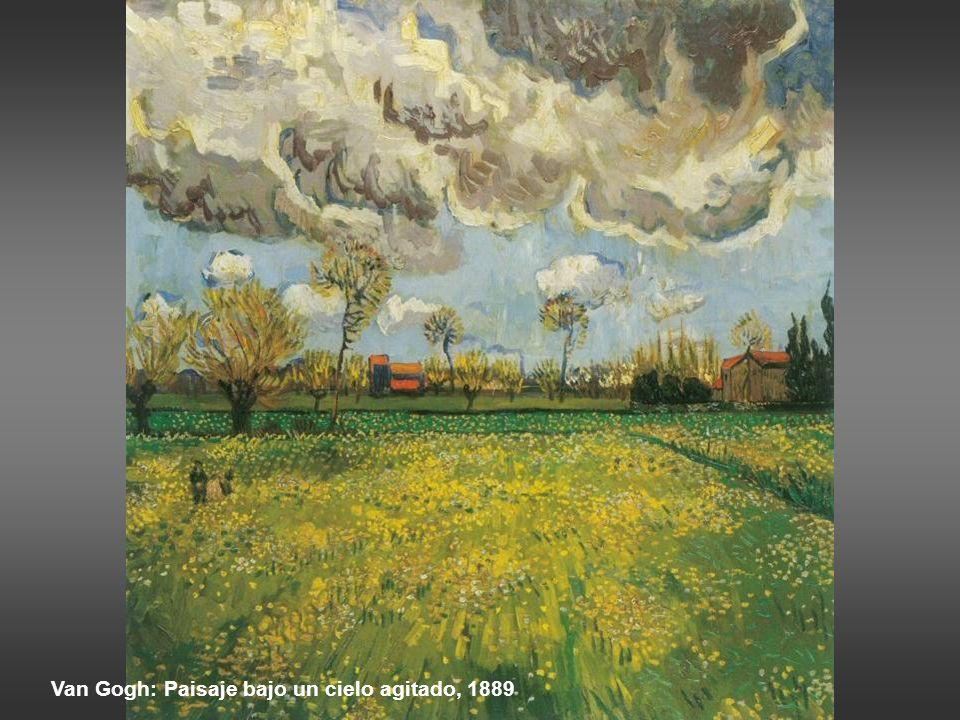 Sisley: la inundación en Port-Marly, 1876 El cielo…. No solo contribuye a conferir profundidad mediante sus planos (porque el cielo tiene distintos pl