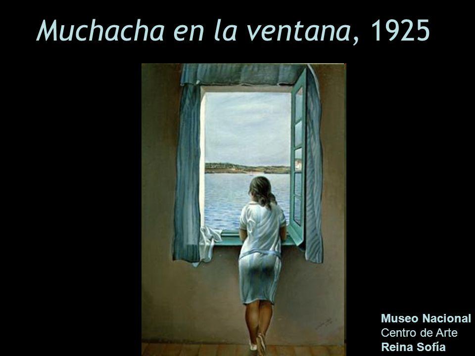 Muchacha en la ventana, 1925 Museo Nacional Centro de Arte Reina Sofía