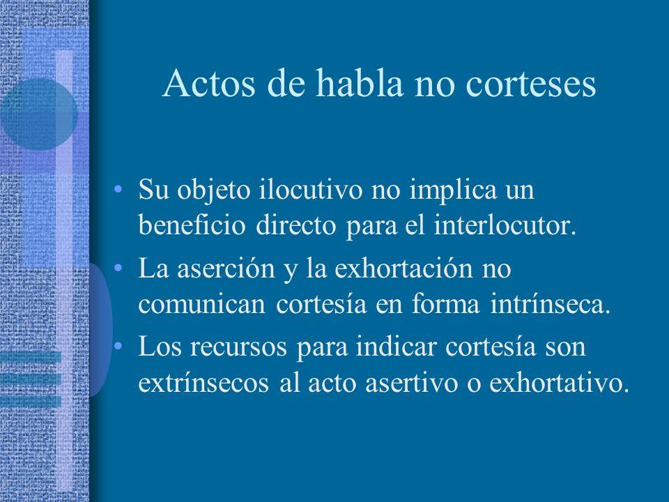 ACTOS ASERTIVOS