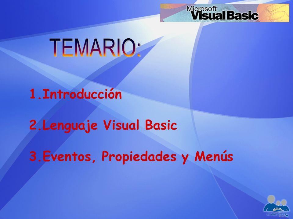 ¿Qué es Visual Basic.