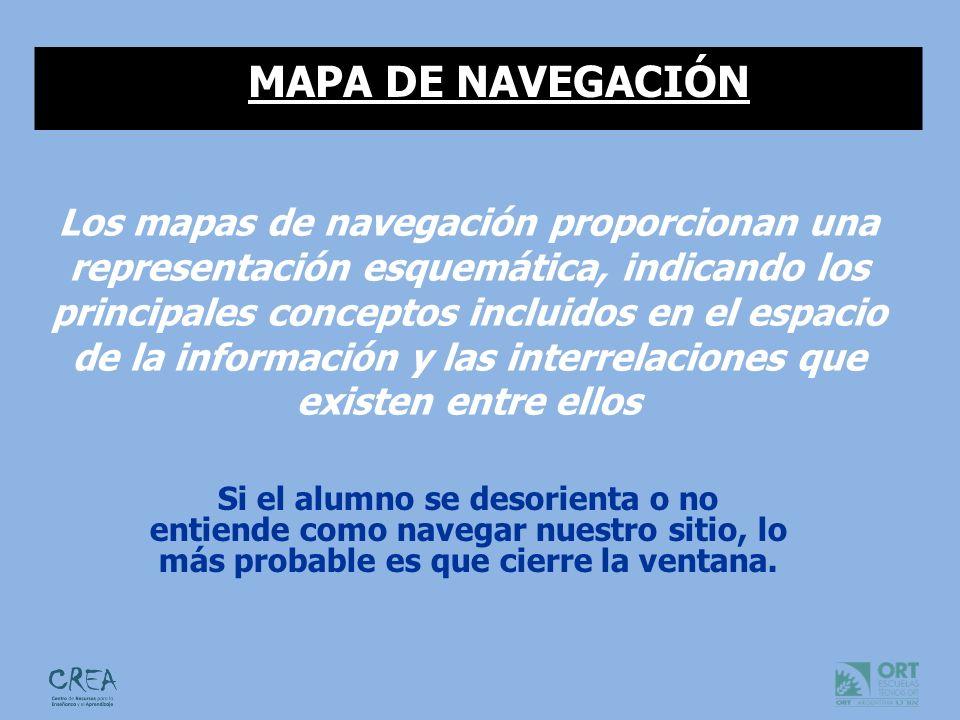Preguntas que debes hacerte a la hora de pensar un mapa de navegación: ¿Debe forzar determinados flujos de navegación, o permitir el desplazamiento libre del usuario.