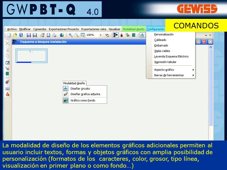 12 La modalidad de diseño de los elementos gráficos adicionales permiten al usuario incluir textos, formas y objetos gráficos con amplia posibilidad d