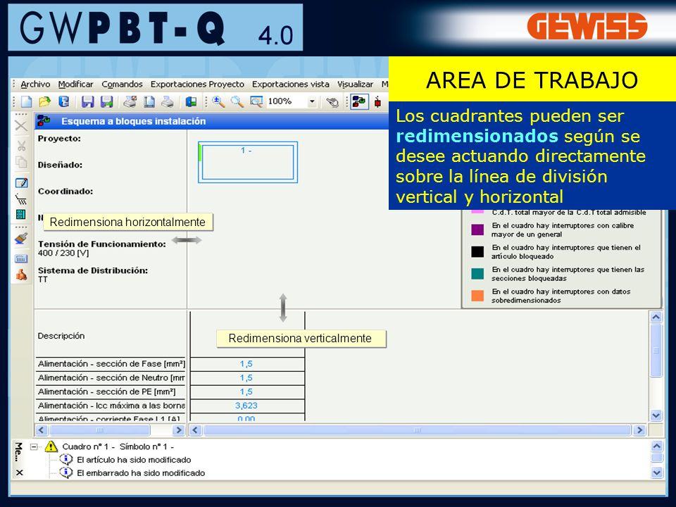 88 SIMBOLOS E IMAGEN DEL APARATO Los aparatos incluidos en el cuadro son marcados con un color específico (definido por el usuario: ver a continuación) sea en el Listado aparatos como en la Panorámica ENVOLVENTE