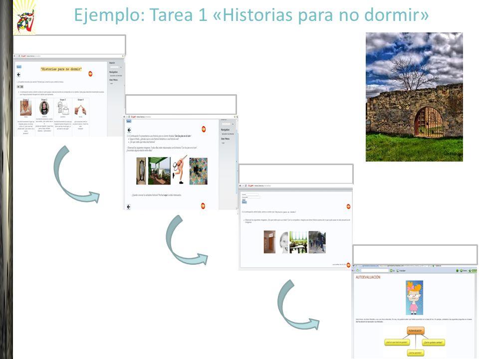 Contextualización Sistematización Producción Ejemplo: Tarea 1 «Historias para no dormir» Autoevaluación