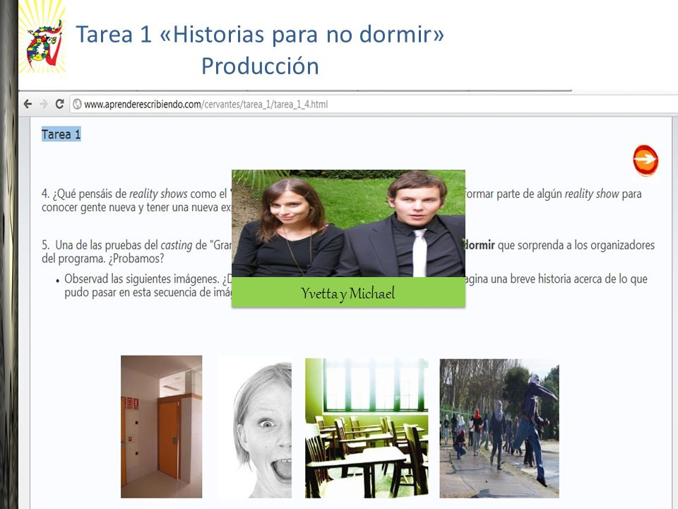 Yvetta y Michael Tarea 1 «Historias para no dormir» Producción