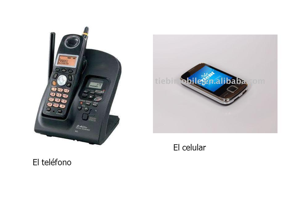 El teléfono El celular