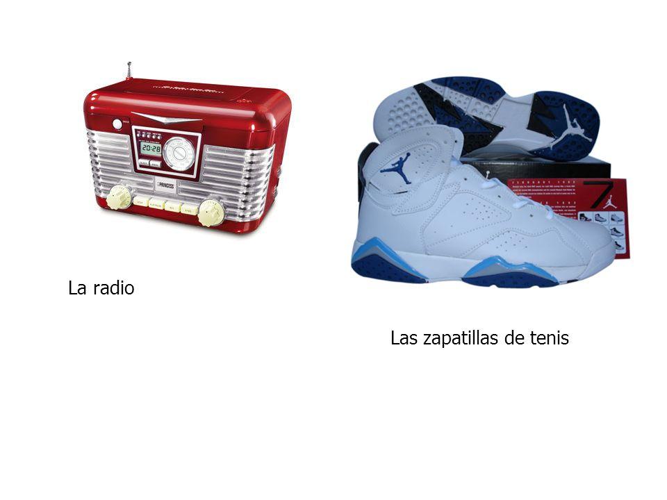 La radio Las zapatillas de tenis